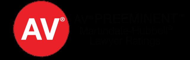AV Preeminent Martindale-Hubbel Lawyers Ratings Logo