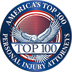 America's Top 100 Personal Injury Attorneys Logo