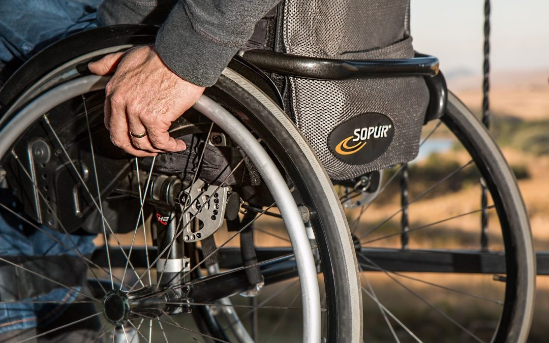 Close up shot on person in a wheelchair - Spitzer Legal Catastrophic Injury